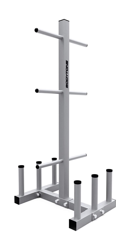 BT BODYTONE Soporte para Discos y Barras de Musculaci/ón de 28mm Disquero Barrero Profesional de Acero
