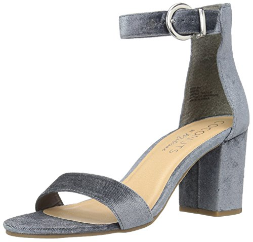 Coconuts by Matisse Women's Greta Dress Sandal, Slate Blue, 8 M US