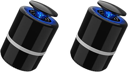 2Pcs Trampa de Mosquito Insectos Luz LED Productos de Automóvil Cortacéspedes Jardín Deco: Amazon.es: Jardín