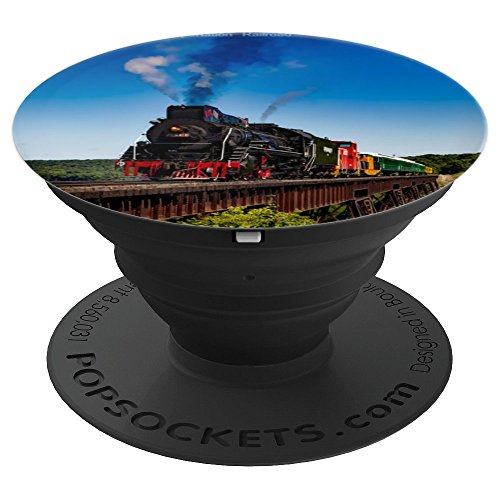 otive Steam Engine - PopSockets Grip and Stand for Phones and Tablets ()