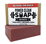 After a tough workout, organic Power Clean Soothing soap will invigorate you with blood orange citrus and moisturizing glycerin while reducing inflammation and soothing sore muscles 100% naturally.  Thanks to our innovative aromatherapy soap,...