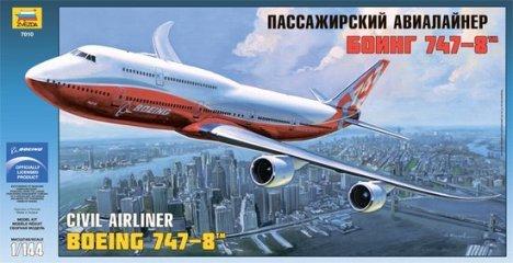 Zvezda Models 1/144 Boeing 747-8