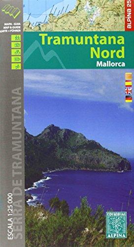 Descargar Libro Tramuntana Nord, Mapa Excursionista. Escala 1:25.000. Español, Català, Français, Deustch. Alpina Editorial. Vv.aa.