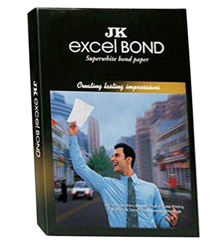 Ravi Agencies JK Excel Bond A4 Paper, 1 Ream, 85 GSM