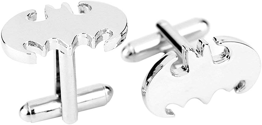 Lifestyle Covink Batman Collection Cuff-Link Mens Classic Formal Occasions Super Hero Cufflinks with Box