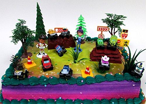 Monster Jam Truck Cake Topper