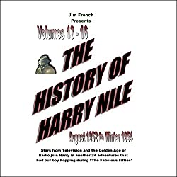 The History of Harry Nile, Box Set 4, Vol. 13-16, August 1952 to Winter 1954
