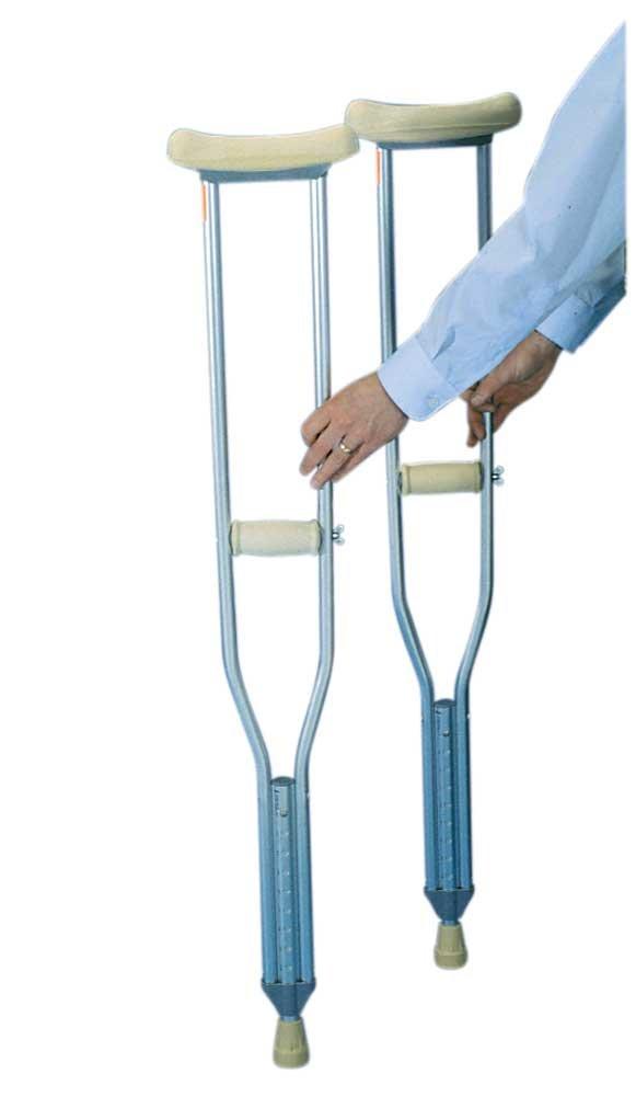 Axillary Crutch, Regular, Case of 8 pairs