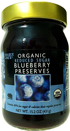 Trader Joes Organic Blueberry Preserves