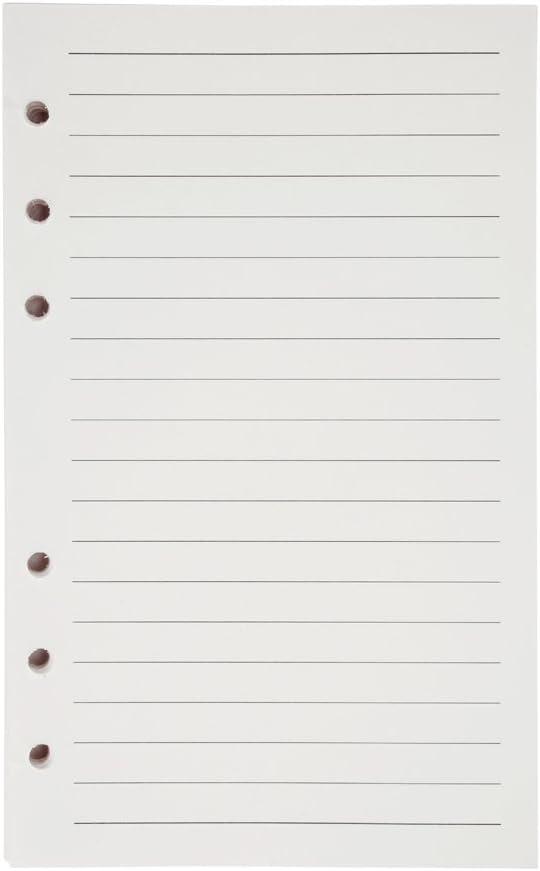 pers/önlicher Planer mit magnetischer Schnalle nachf/üllbare Papierbinder 2 St/ück A6 PU-Leder-Notizbuch lose Bl/ätter gr/ün