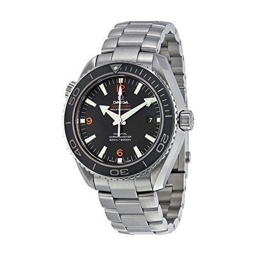 Omega 232.30.46.21.01.003 del hombre planeta océano grande tamaño negro Dial reloj por Omega: Amazon.es: Relojes
