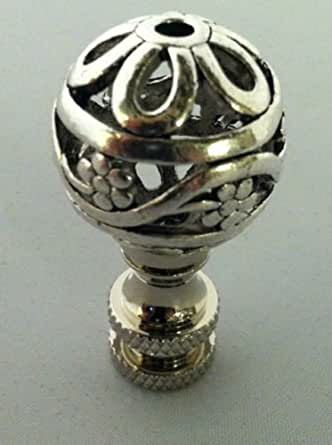 Bethesda Design Llc Pierced Ball Finial 1 80 Quot Tall Nickel