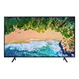 "Samsung UN75NU7100FXZX Smart TV 75"" 4K Ultra HD, 3 HDMI, 2 USB, Charcoal Black (2018)"