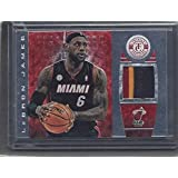 Lebron James 2013-14 Panini Crusade Majestic Gold 3 Color Patch #d 24/25 - Panini Certified - Basketball Game Used Cards