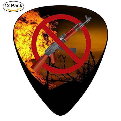 Music Fun Facebook bans private gun sales Guitar Picks 12 Pack Medium Cool for Bass Musical Instruments - For Bans Sale