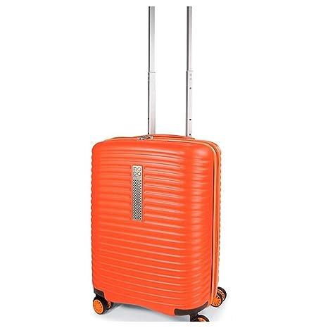 b6a19d809a trolley cabina rigido espandibile modo by roncato vega 55x40x21/25 (orange)