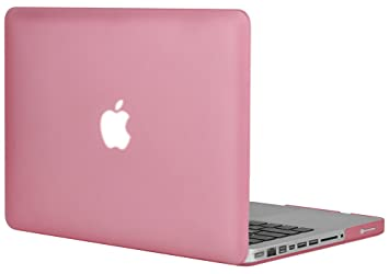 Generic - Carcasa rígida de goma translúcida para Apple MacBook Pro 13,3