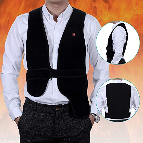 GENERAL ARMOR USB Heated Vest - Size Adjustable 5V Electric Heated Clothing for Men or Women, Washable (Adult) (General Electric Usb)