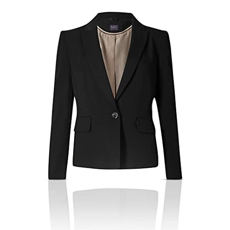 The Outlet London - Chaqueta de Traje - Blazer - Manga Larga ...