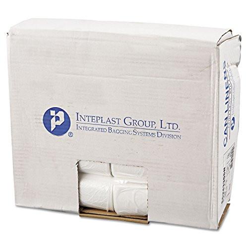 Inteplast EC243306N Can Liners, Perforated, 16 Gallon, 24 x 33, Natural ()