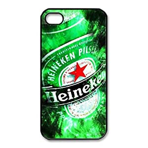 Printed Cover Protector Azrxw Heineken For iPhone 4,4S Cell Phone Case Unique Design Cases