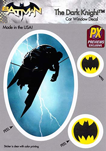Batman The Dark Knight Highwire & Bat Symbol Car Window Decal - New! ()