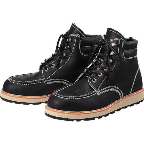 青木安全靴 US-200BK 25.5cm US-200BK-25.5 安全靴(中編上靴JIS規格品) B0792QQD8T