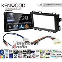 Volunteer Audio Kenwood DDX9704S Double Din Radio Install Kit with Apple Carplay Android Auto Fits 2009-2013 Nissan Murano