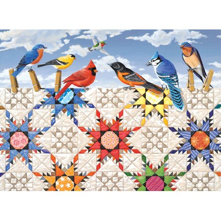 - SunsOut Puzzle Feathered Stars-500pc