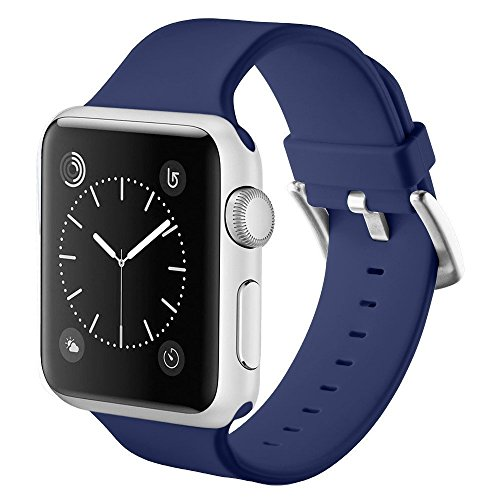 Wristband Pyramid (For Apple Watch Band Series 3 Series 2 Series 1 Soft Sports Silicone Bracelet Strap Wristband Replacement Watchband)