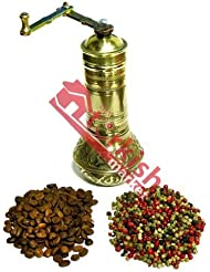 3 x Turkish Brass Coffee Grinder - Large - With Ball - BIG SALE