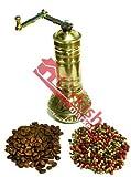 3 x Turkish Brass Coffee Grinder - Large - With Ball - BIG SALE