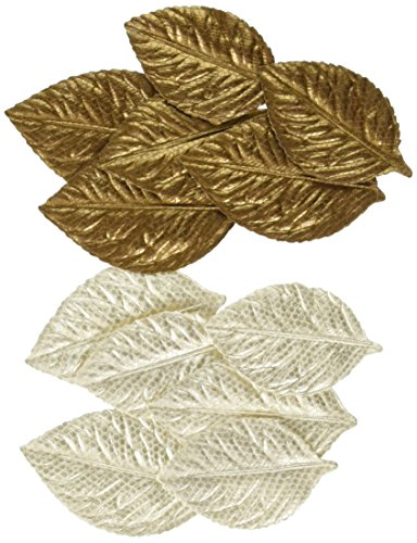 Fabric Embellishments Scrapbooking (Prima Marketing 655350547493 Lovely Fabric Leaves Scrapbooking Embellishments)