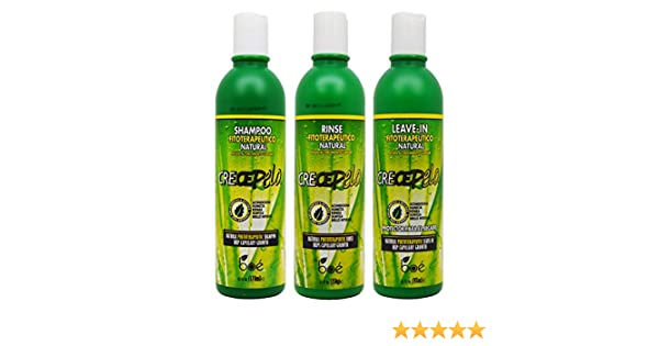 Amazon.com : BOE Crece Pelo Fitoterapeutico Natural Shampoo & Rinse & Leave-in