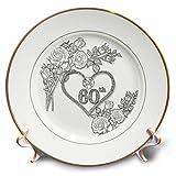 3dRose Doreen Erhardt Wedding Collection - 60th