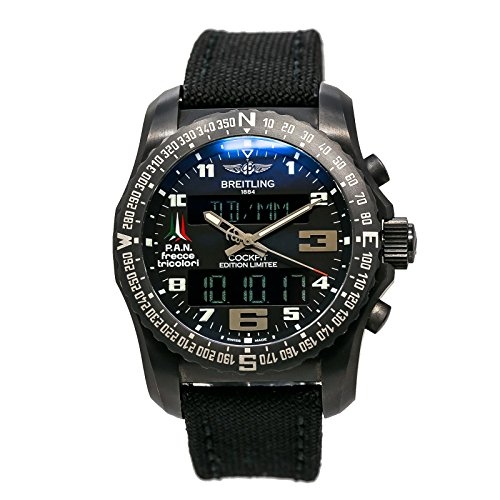 Breitling Cockpit - Breitling Cockpit swiss-quartz mens Watch VB5010 (Certified Pre-owned)