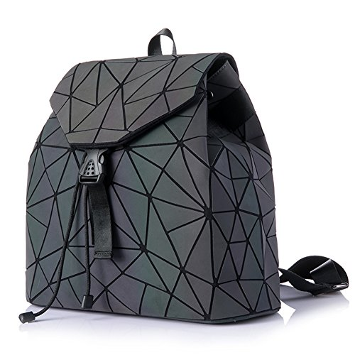 HotOne Shard Lattice Design Geometric Backpack Holographic for sale  Delivered anywhere in USA