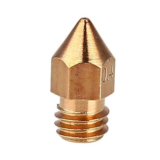 Tiptiper Cabeza de la impresora 3D, boquilla de cobre ...