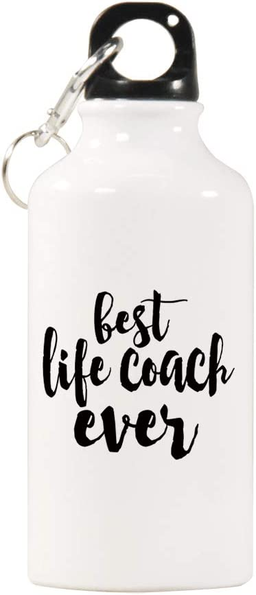 Viowr22iso Sports Water Bottles Best Life Coach Water Bottle Bpa Free Stainless Steel Bottle With Cap Wild Mouth Life Coach Gifts Great For Sport Home Travel Outdoors 400ml 17oz Amazon Co Uk Sports Outdoors