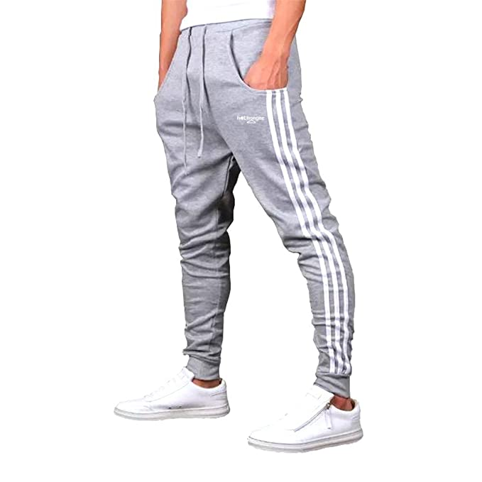 9607e88a Hothanger Mens Joggers New Fashion Grey Casual Harem Sweatpants Sport Pants  Trousers Piping Sarouel Men Tracksuit