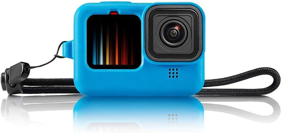 Funda de silicona + Lanyard + Lens Cover GoPro Hero 9 Black