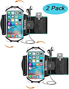 2 Pack Cell Phone Armband for Running