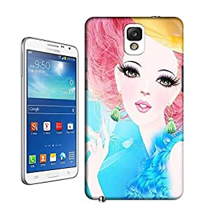 Buythecases durable Fashion girl20 for samsung galaxy note 3 case
