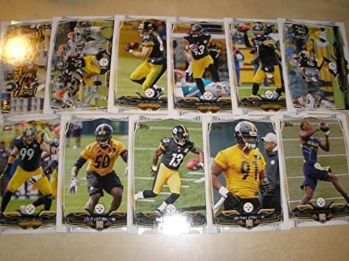 Topps Pittsburgh Steelers Shipped Acrylic