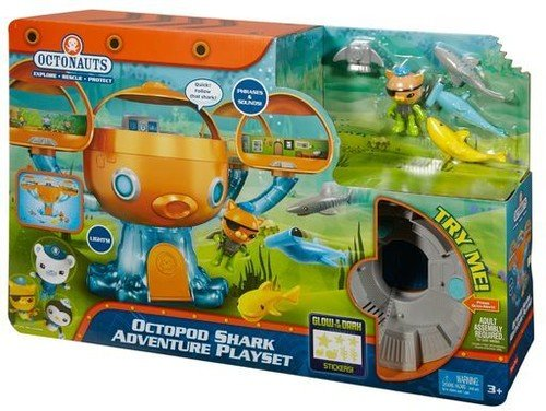 Fisher-Price Octonauts Octopod Shark Adventure Playset from Fisher-Price