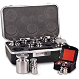 Stainless Steel Class F Metric Set, 100g - 10mg & Statement of Accuracy