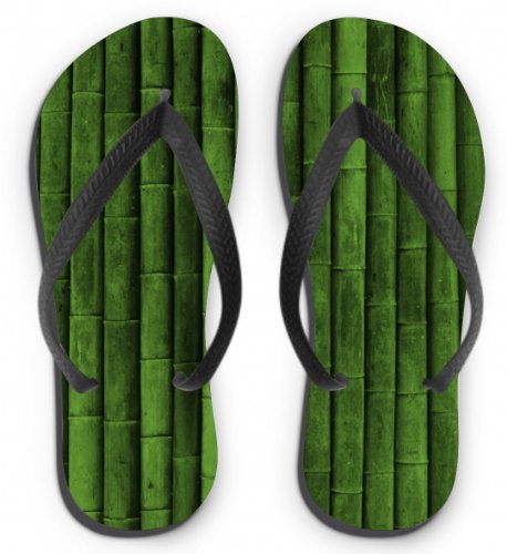 Flip Flops Motiv Bambus Größe S (35-37)