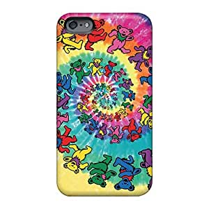 Apple Iphone 6s HbS1113zrLV Provide Private Custom Nice Grateful Dead Pattern Shock Absorption Hard Cell-phone Case -88caseme