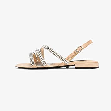 YQQ Zapatos Planos Sandalias Solo Zapato Femenino Zapatos Casuales Zapatos De Vacaciones Zapatos De Mujer Primavera