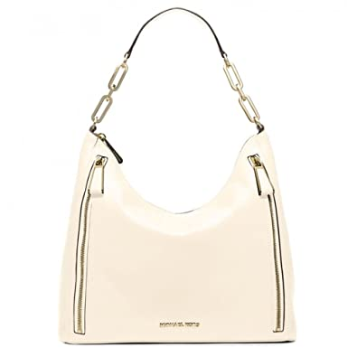 8ca40af46f4 MICHAEL by Michael Kors Matilda Ecru Large Shoulder Bag one size Ecru